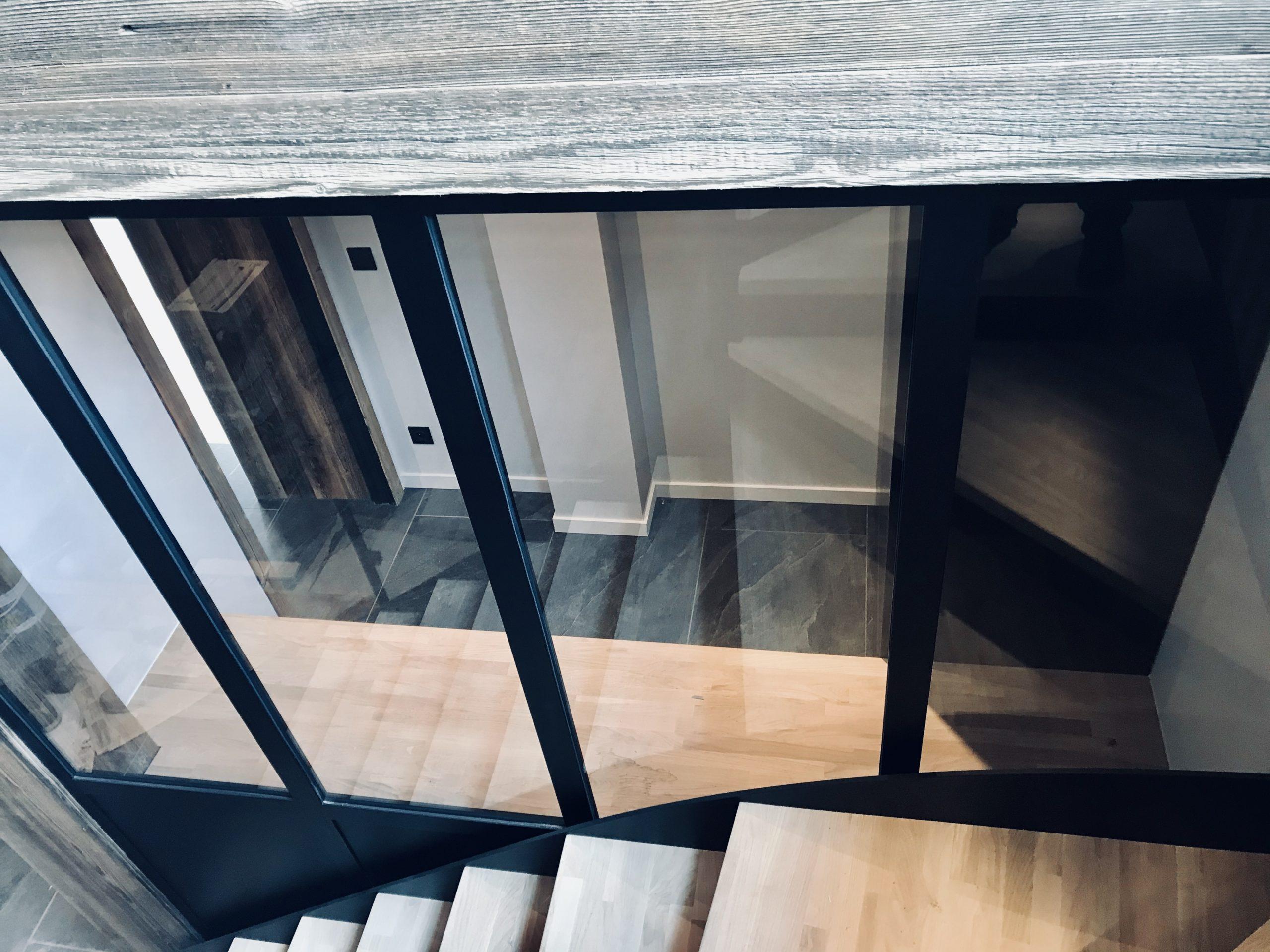 EscaliersBureauVerrièreAloonaDesign